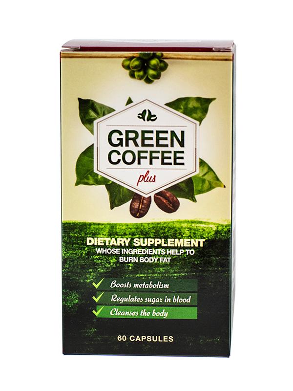 zielona kawa w kapsułkach