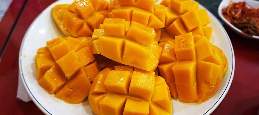 african mango owoce